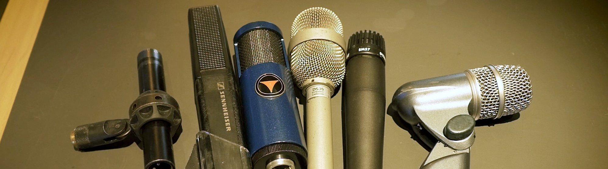 Så väljer du rätt mikrofon för virveltrumman