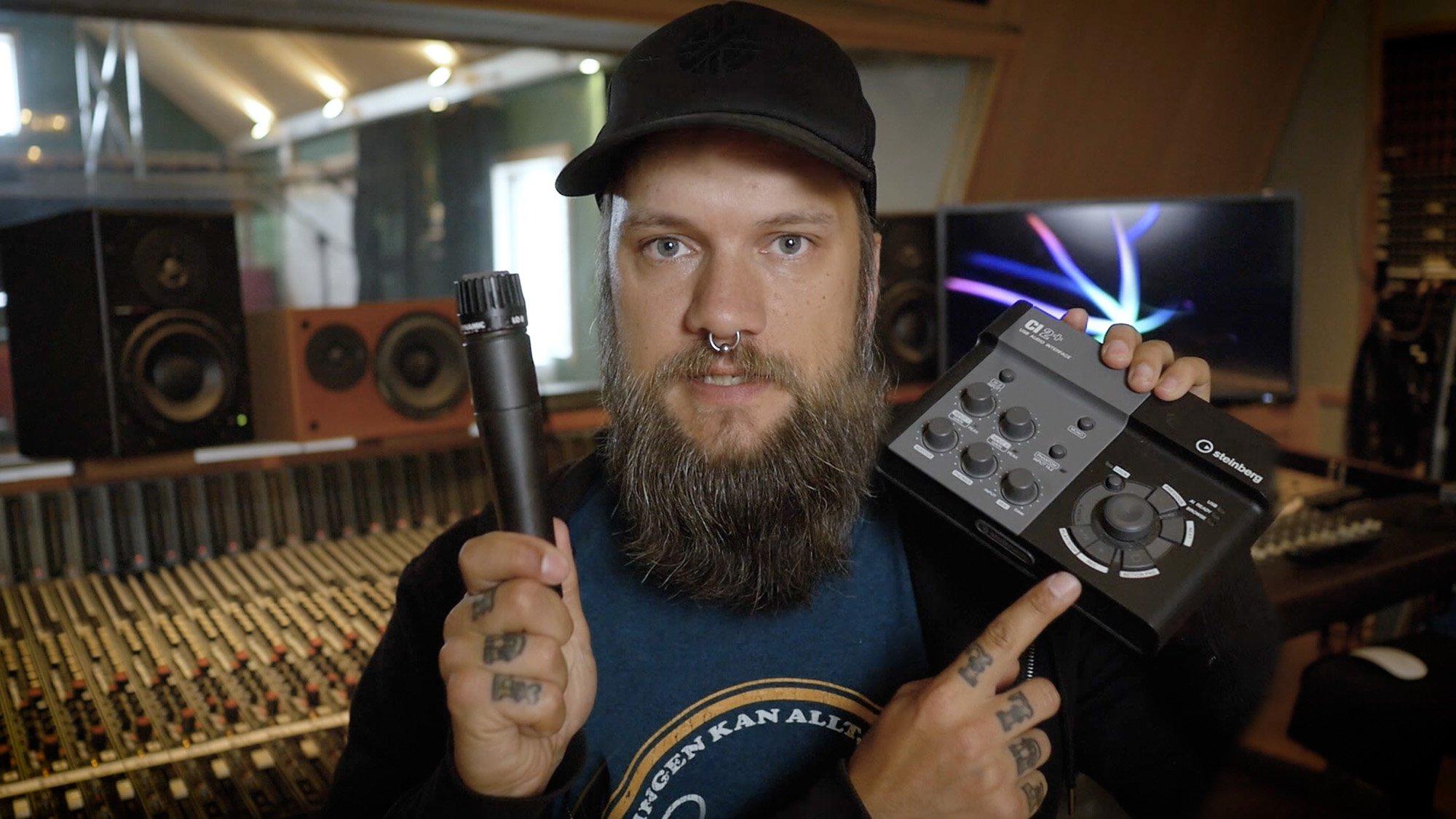 Komplett inspelningsstudio för under 2 500 kr