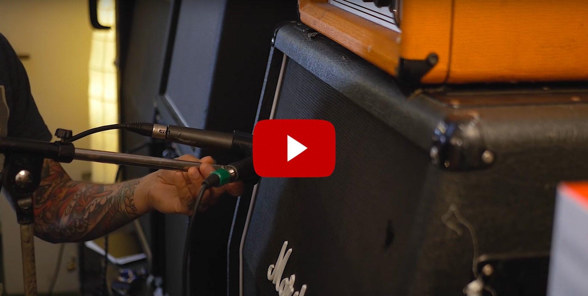 Ny mikrofonhållare ger dig klassiskt metalgitarr-ljud